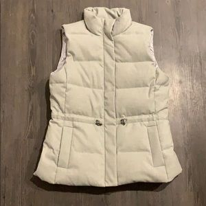 Banana Republic Goose Down Vest Quilted